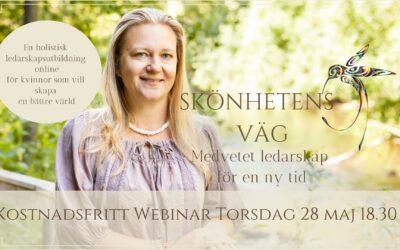 Webinar Skönhetens Väg – Ledarskap 28 maj!