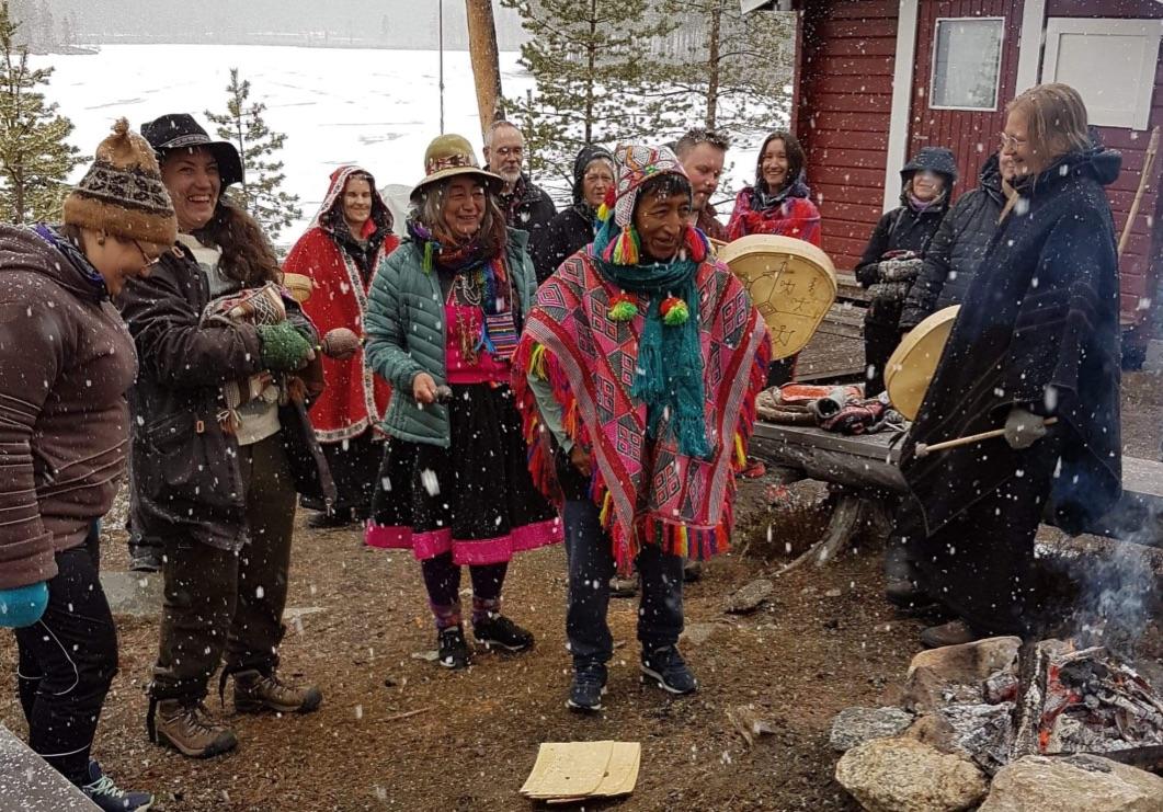 Anna Larsson, Mama Selmira, Don Alejandro. Traditioner från Peru.