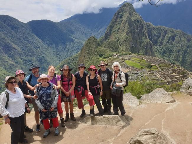Resa till Peru, bild från tidigare resa med Anna Larsson