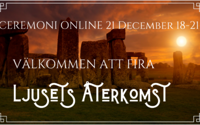 Ljusets Återkomst Ceremoni online 21 december