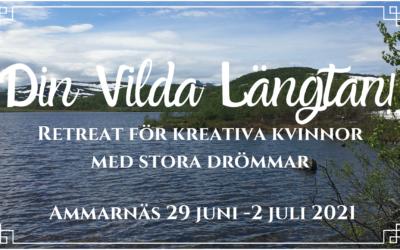 Din Vilda Längtan! Retreat i Ammarnäs för kvinnliga företagare