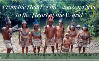 From the Heart of the Amazon River to the Heart of the World