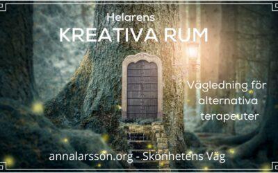 Helarens Kreativa Rum – vägledning för alternativa terapeuter